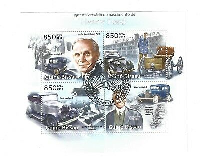 stamp sheet - CTO - henry ford - car