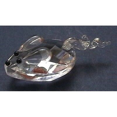 Cut Glass Small Mouse Figurine - 1201