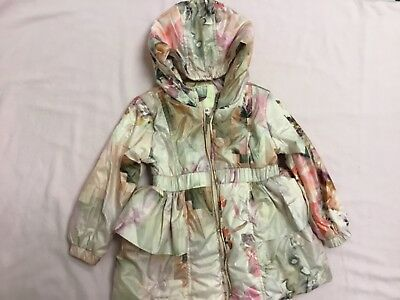 Katie Price Family Shop Immaculate Girls Ceremony Coat Age 2-3