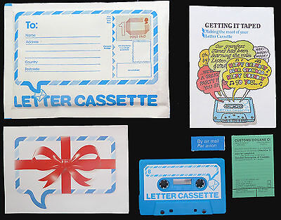 GB 1984 Complete Original Letter Cassette - Package Unused NEW SALE PRICE BN 33