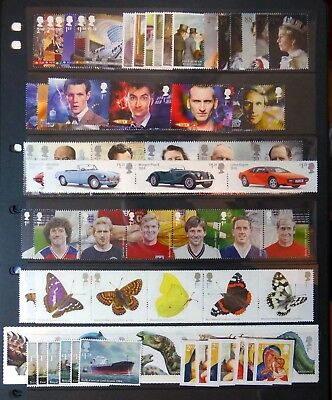GB 2013 Commemorative Complete Year Collection 12 Sets U/M NC673