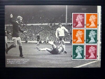 GB 2013 Football Machin Se-tenant Prestige Booklet Pane U/M SEE BELOW NB4076