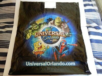 UNIVERSAL ORLANDO RESORT MARVEL V LARGE Carrier Bag HULK Spiderman Shrek USA