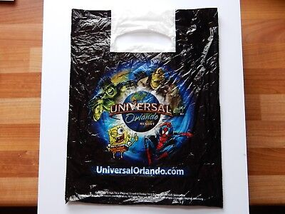 UNIVERSAL ORLANDO RESORT MARVEL Carrier Bag HULK Spiderman Shrek Squarebob USA