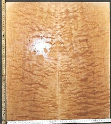 Tonewood Quilted Ahorn Maple Guitar Luthier Tonholz Acoustic Backs Top Set 4