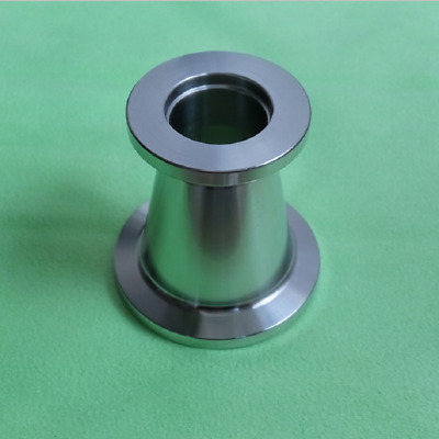 Stainless Steel 304 NW/KF-25 to NW/KF-16 Conical Reducer Vacuum Fitting Adapter