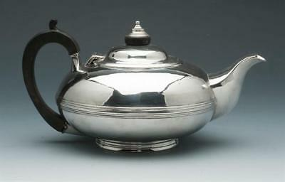 Georgian Silver Tea Pot Circa 1821. Made In London By George Bower. Sterling Sil