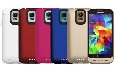 half off eda30 ccc0a SAMSUNG GALAXY S5 Mophie Juice Pack External Charging Battery Case {NEW IN  BOX}