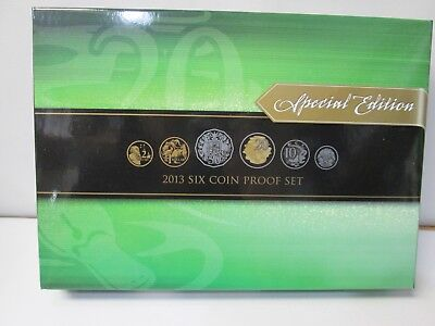 2013 Australia's 6 Coin Proof Set - Special Edition