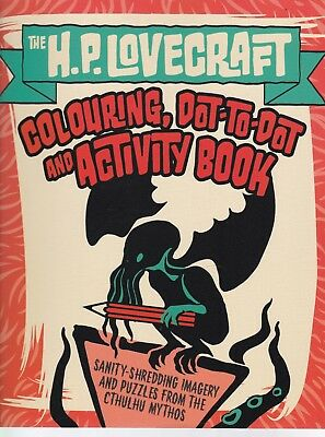 The H.P. Lovecraft Coloring, Dot-to-Dot & Activity Book (Colour Activity Books)