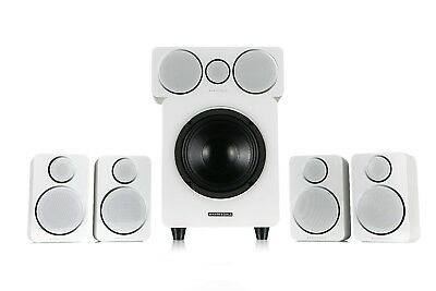Wharfedale DX-2 HCP 5.1 Home Cinema Speaker Package White