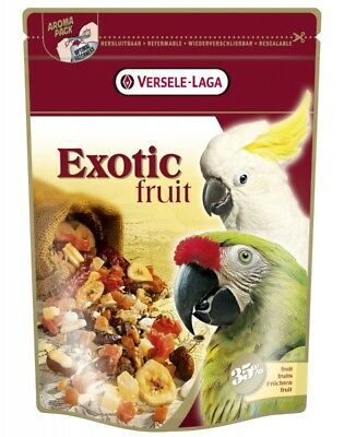 VERSELE LAGA Snack PAPAGEI Exotic Fruit 600 g Beutel Leckerli