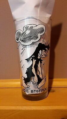 Vintage Very Rare JOE BTSFPLK - Collectable Drinking Glass 1975 C.E.I Al Capp