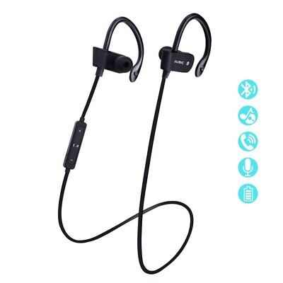 Bluetooth Earbuds Wireless Headphones Sports Headset Mic for iPhone x 8 Samsung