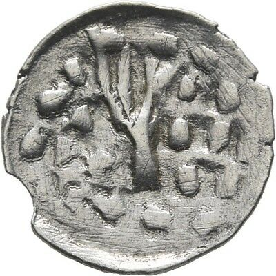 Lanz Greek Principality Crusaders Uncertain Bracteat Imitation Tree Ar ±Ata2159