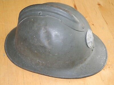 French ww2 Adrian steel helmet M26 with original liner