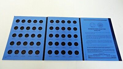 Coin Folder Dimes: Roosevelt Collection Starting 1965 Number Two by Whitman *