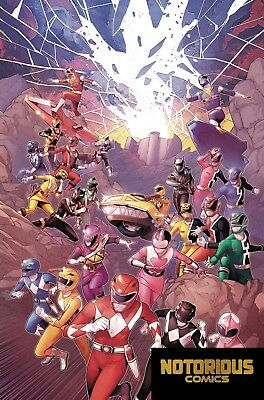 Mighty Morphin Power Rangers #29 Shattered Grid Boom Comics 1st Print 07/18