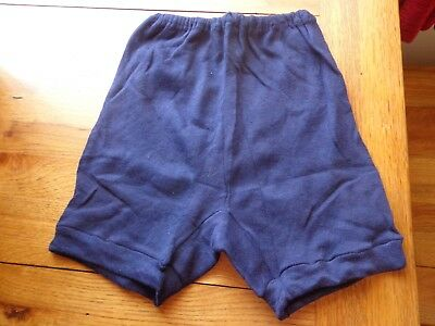 Vintage 1960's Ruth Navy Blue Regulation School Knickers Size 12