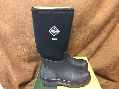 NEW Muck Chore HI Black Work Boots CHH-000A Tall Waterproof Choose Your Size