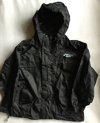 Boy or Girls Gelert Waterproof Jacket in Black Colour