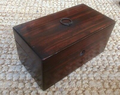 Antique Victorian Edwardian Tea Caddy,Trinket Box,Jewellery Case,Sewing,Upcycle