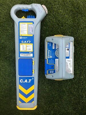 cat & genny/cable avoidance tool/cat detector/cable locator/radiodetection Cat3v