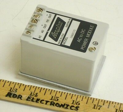 Acopian 18WB275 Encapsulated DC Power Supply 18V 2.75A +EB35DIN DIN Rail Adapter