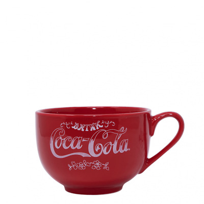 Authentic Coca-Cola Coke Change Receiver Ceramic Coffee Red Soup Mug New