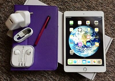 Apple iPad mini 3 16GB, Wi-Fi, 7.9in RETINA DISPLAY/ TOUCH ID - Gold+ EXTRA