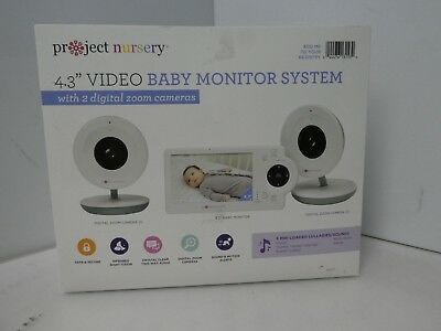 "4.3"" LCD Baby Monitor System w/Two Digital Zoom Cameras"