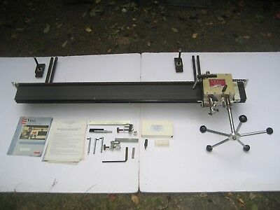 "VEGA 58"" long Duplicator for 48"" Lathe with instructional video &operator manual"