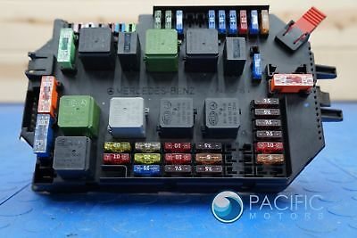 Rear Fuse Box Junction Relay Block 2215406350 Mercedes S65 AMG W221 2009