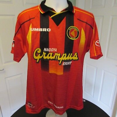 1996-1998 Nagoya Grampus Eight, Japan Umbro, Home Football Shirt, Soccer Jersey,