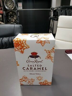 Salted Caramel Crown Royal Collectors Edition Sealed Box
