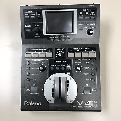 Roland V-4EX | Digital Video Mixing Device for Video Performance and Web Stream
