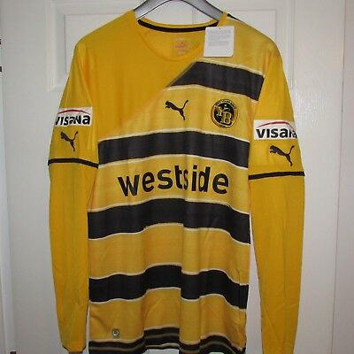 2010/11 Bsc Young Boys Player Issue Home Football Shirt, Soccer Jersey, Maillot