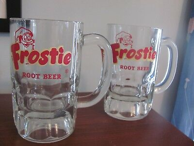 Frostie Root Beer Mugs set of 2 - excellent condition