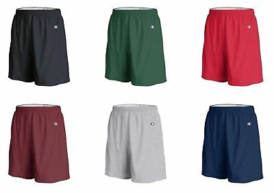 Champion Mens Athletic Gym Shorts, Cotton Jersey (8187)