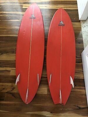 Jim Banks Surfboard 6'10""