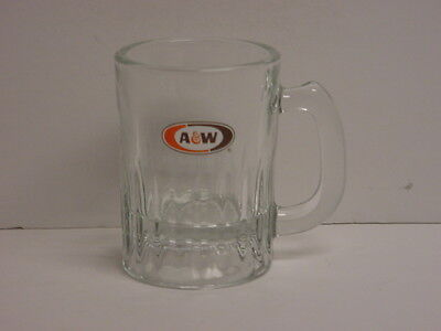 Vintage A & W Root Beer Mug Small 3-1/2 oz New Old Stock Indiana Glass
