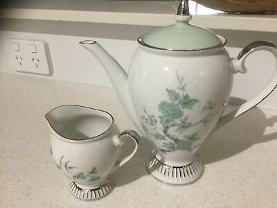 Westminister Coffee Pot And Milk Jug Pattern No600