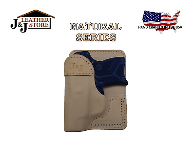 J&J BERETTA PICO Formed Wallet Style Premium Natural Leather