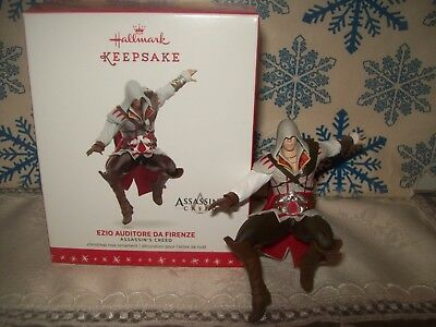 Hallmark Assassin's Creed 2016 Christmas Ornaments Ezio Auditore Da Firenze