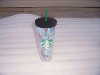 Starbucks - Washington DC Acrylic Cold Cup Tumbler, Venti 24 fl oz - Brand New
