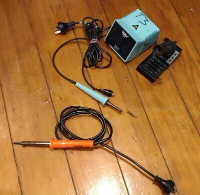 Weller soldering station TC 202D + TC 201B wand+ Spare Duratech Iron (Used)