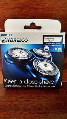 NEW Philips Norelco HQ8 HQ 8 Dual Precision Replacement Shaver Shaving Heads NEW