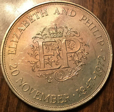 1972 Uk Gb Great Britain Crown