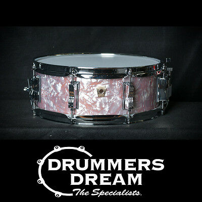 Ludwig Limited Edition Classic Maple 14x5 Snare Drum In Copper Pearl Wrap Finish