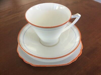 Heathcotf Art Deco Bone China Trio